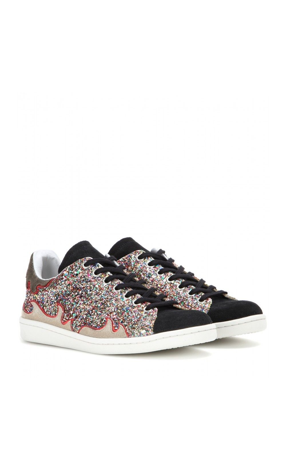 674e7d818249 Isabel Marant Gilly Glitter Sneakers - Isabel Marant