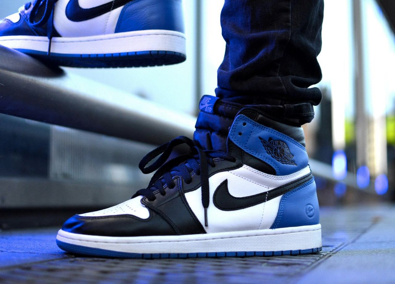 Fragment Design x Nike Air Jordan 1 Retro High OG - 2014 (by Charly Chhun)