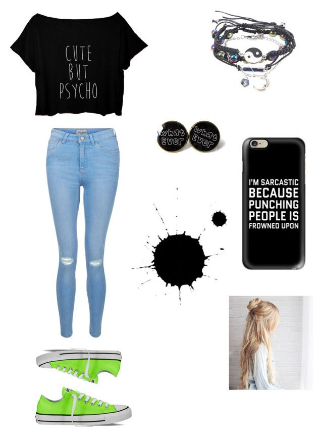 """""""Untitled #19"""" by bananasavannah25 ❤ liked on Polyvore featuring Casetify, New Look and Converse"""