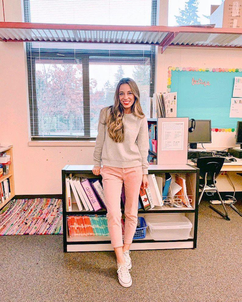 winter looks 27.27 - The Teacher Dress Code  Casual teacher outfit