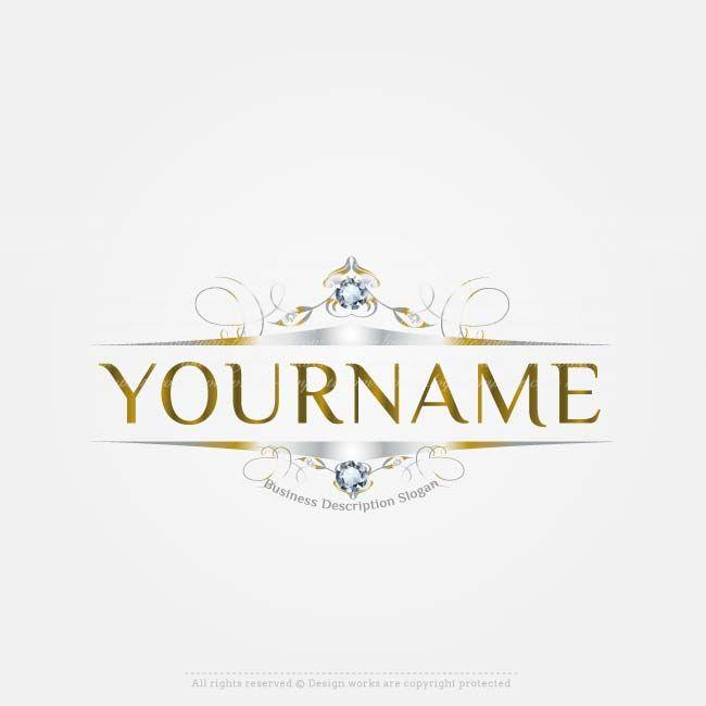 Create a Logo - Diamond frame logo template | Luxury ... - photo #5
