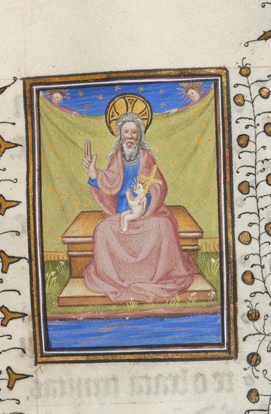 Baby trinity Book of Hours, M.303 fol. 149r