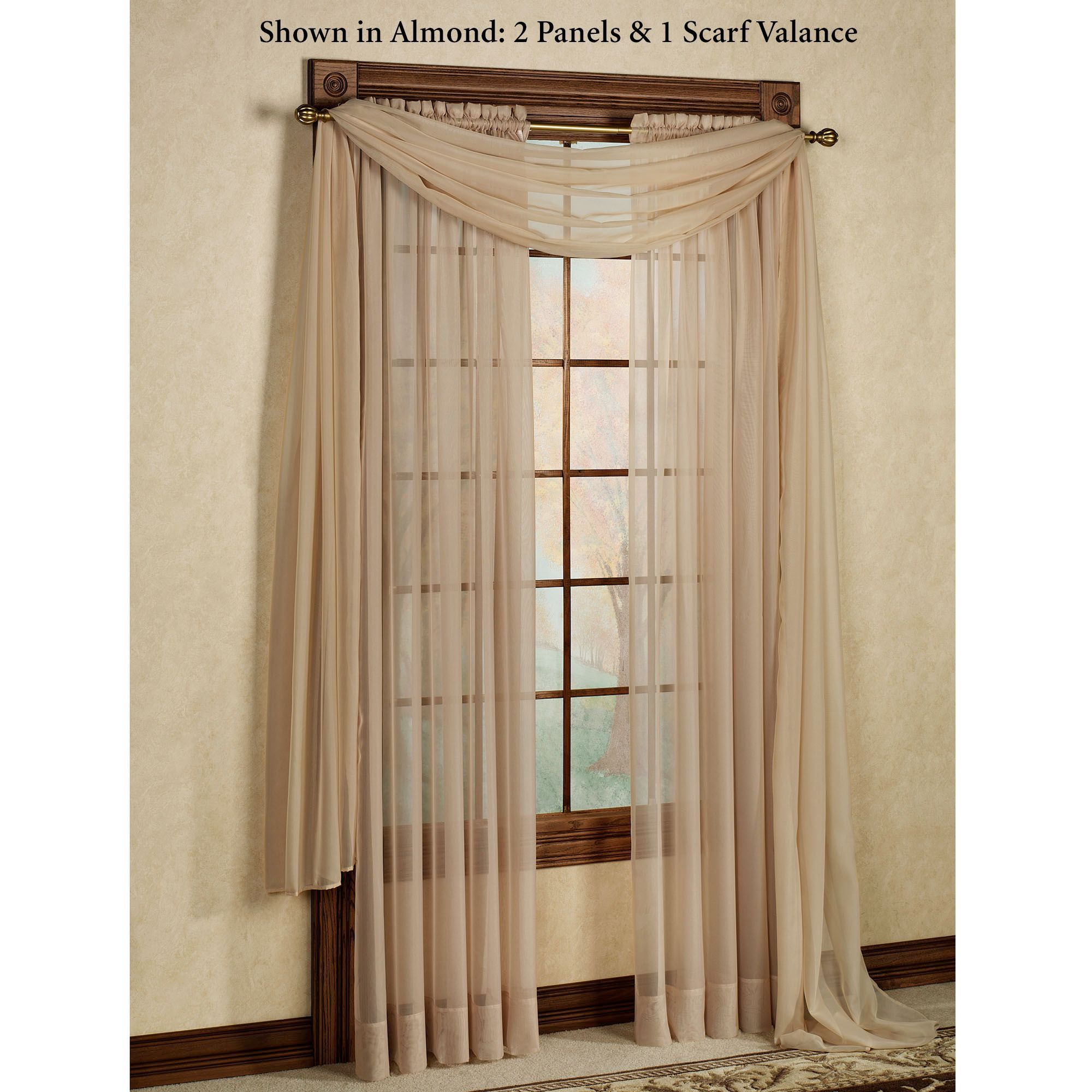 Cream curtains john lewis home projects to try design for Sheer panel curtain ideas