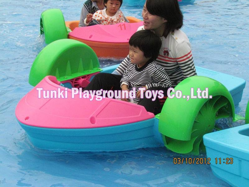 Factory Price Water Kids Pedal Paddle Boat Exciting Swan Boatfast