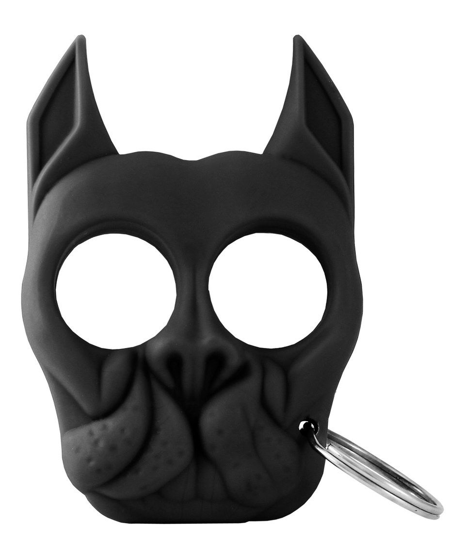 This Black Brutus Self Defense Key Chain Set Of Two By