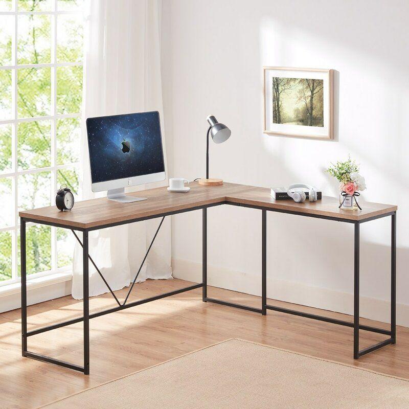 Achaia Reversible L Shape Desk In 2020 L Shaped Desk Desk Home Decor