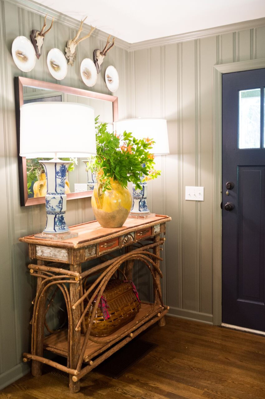 Maggie Griffin Design Cozy Mountain Cottage Entry Way Photo By