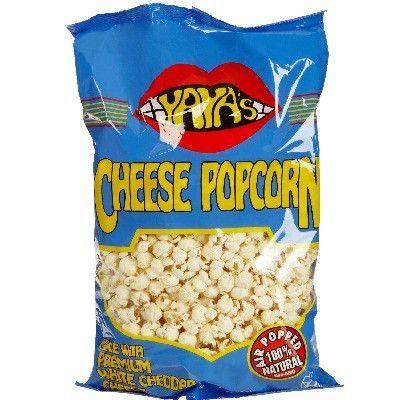 Yaya's Outrageous Food Cheddar Cheese Air Pop (12x6OZ )