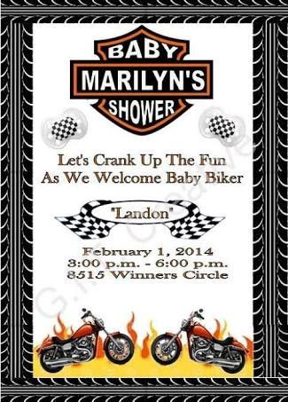 Resultado De Imagem Para Harley Davidson Baby Shower Baby Shower