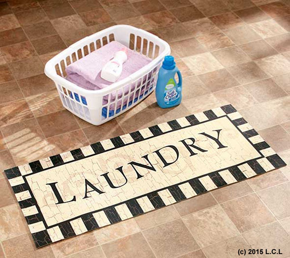 Find This Pin And More On Craft Room S Laundry Room S Home Office S Laundry Room Decorative Cushioned Floor Runner