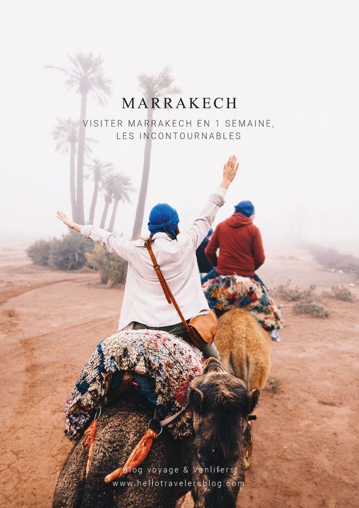 Visiter Marrakech En 1 Semaine Les Incontournables Maroc Marrakech Visiter Marrakech Marrakech Voyage Marrakech
