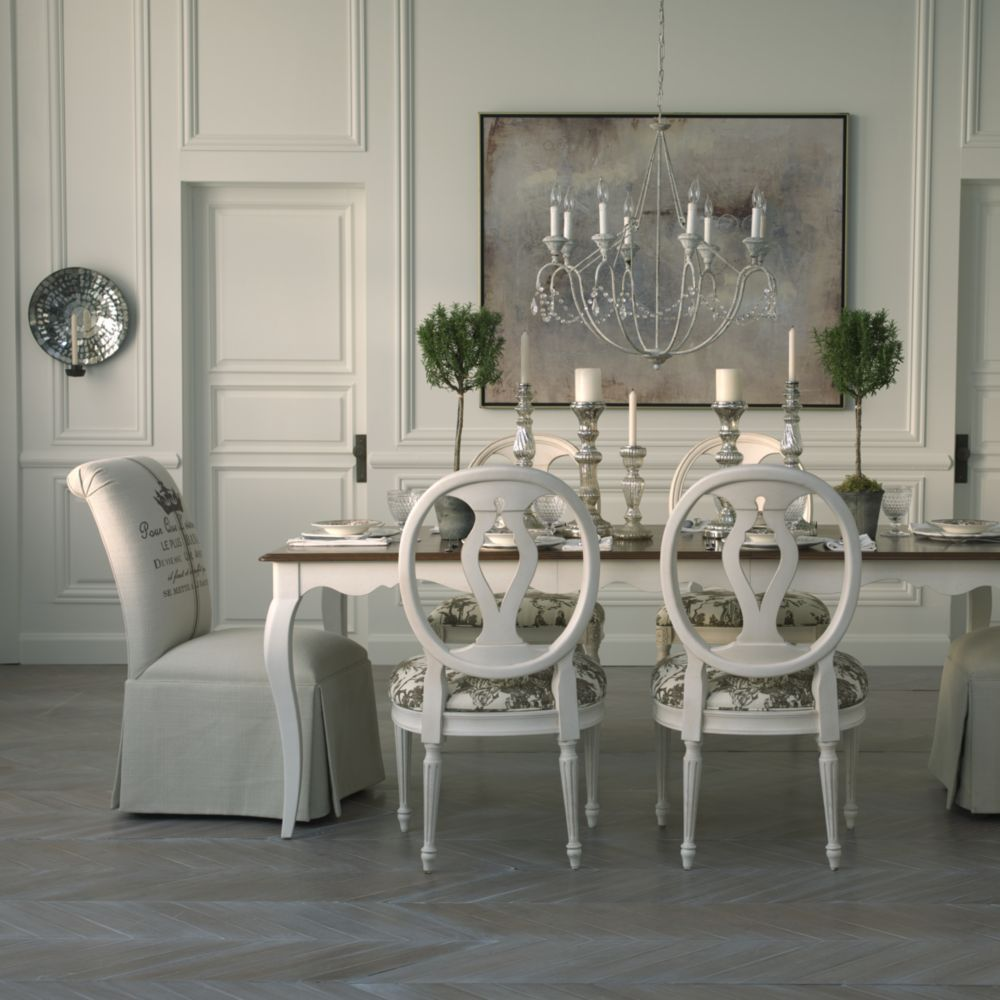 Ethan Allen Dining Room. Country French Dining Rooms.