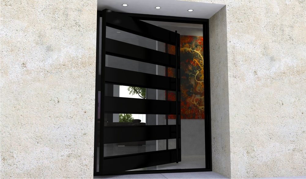 Modern Steel Doors Custom Steel Glass Doors For Luxury Homes Contemporary Front Doors Door Design Modern Pivot Doors
