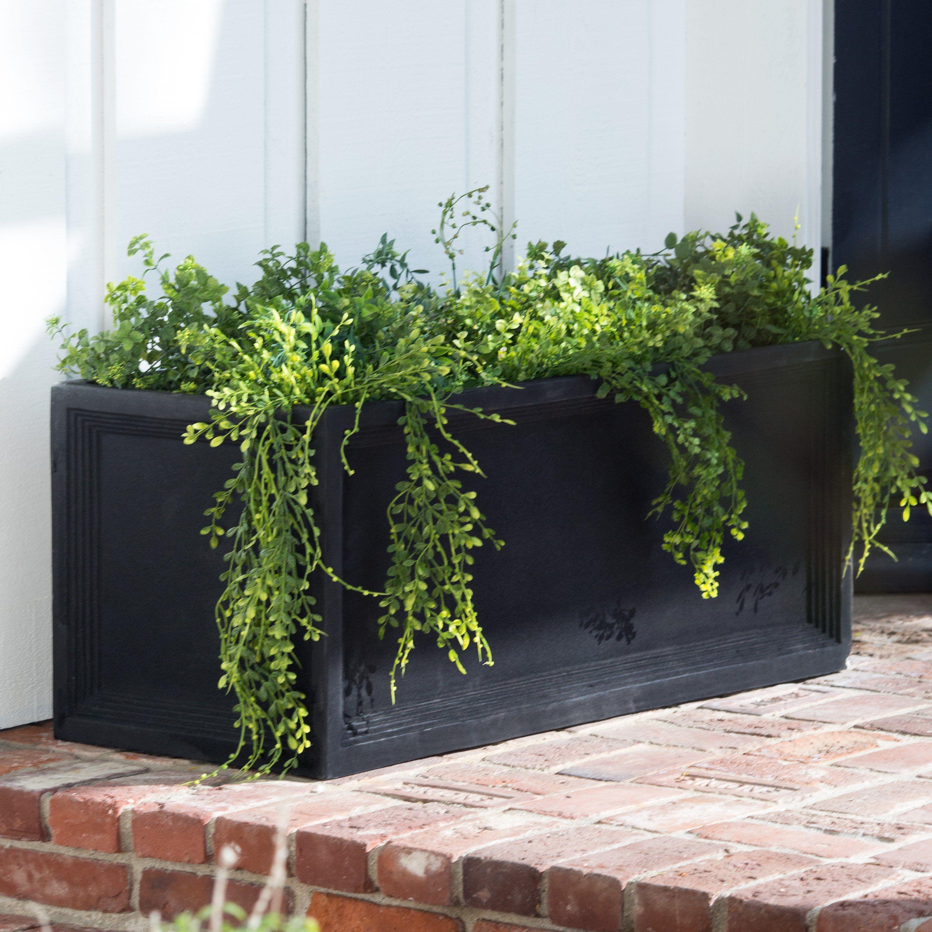 ko fresh decor kovot shop rectangular ceramic fun rectangle and functional tray planter accessories garden planters home saucer includes
