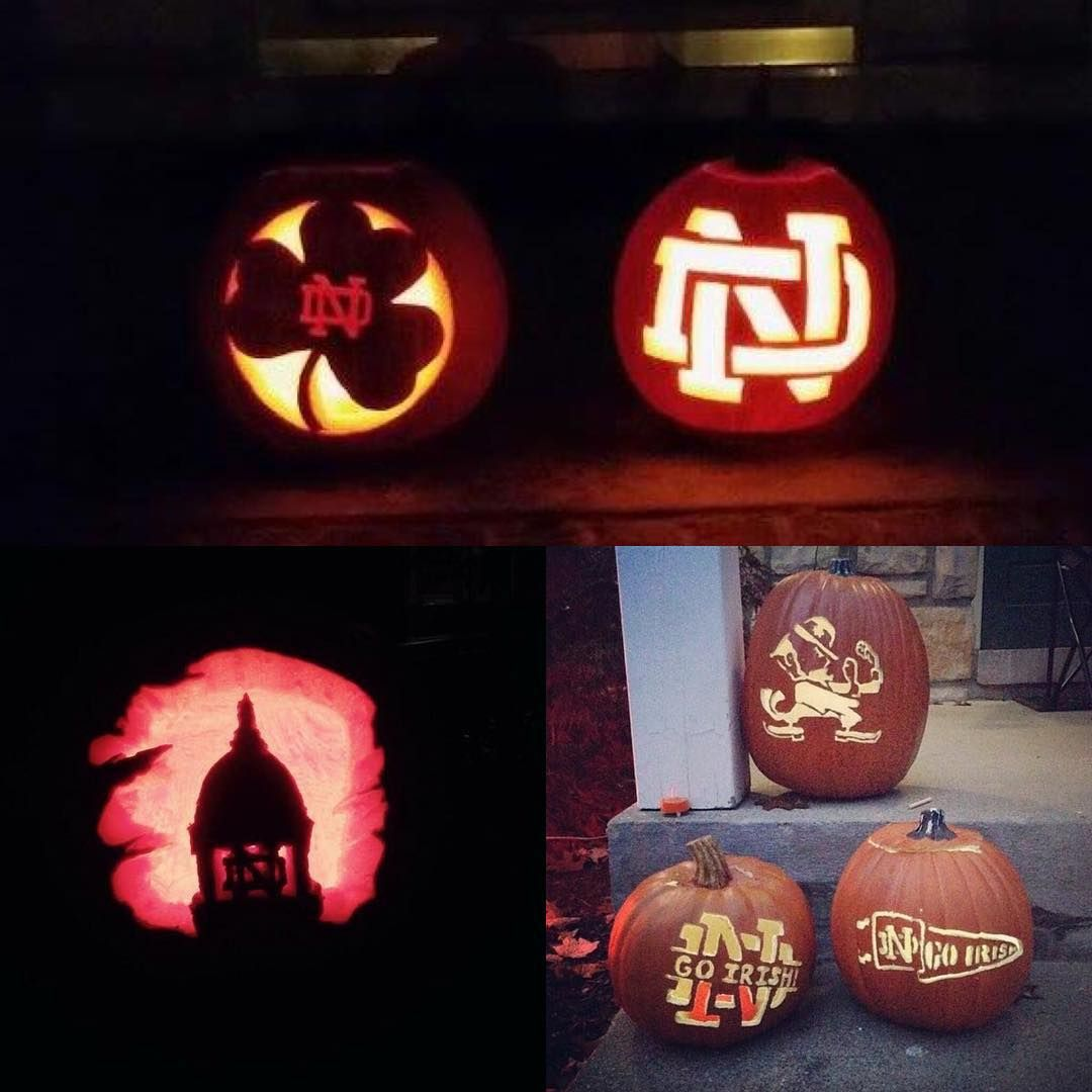 notre dame pumpkin template  Have you carved your #NotreDame pumpkin, yet? Share your ND ...