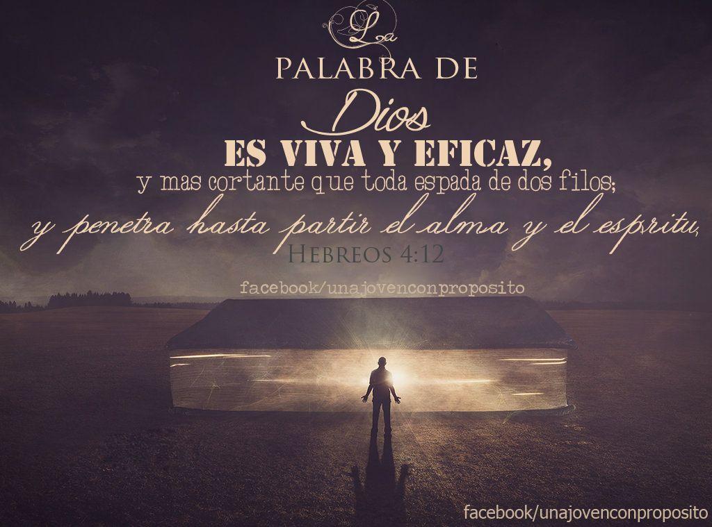 """Versiculos De La Biblia De Animo: Imagenes De Una Joven Con Propósito, """"LA PALABRA DE DIOS"""