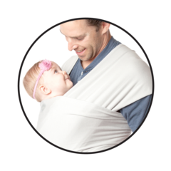 Instructions: Kangaroo Wrap & Hold – MOBY baby carriers