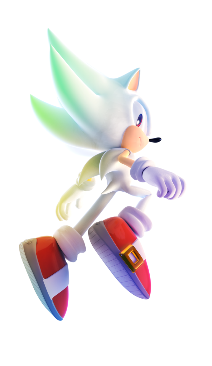 Hyper Sonic by FinnAkira plus  Sonic The Hedgehog SEGA