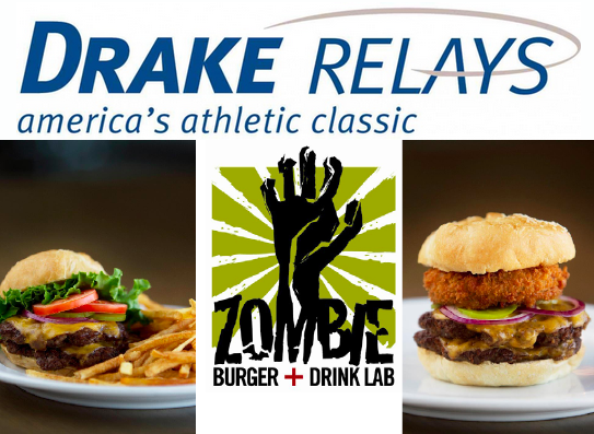 Create a Drake Relaysthemed Zombie Burger Drake relays