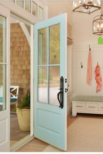 COTTAGE STYLE 4 LITE ENTRY DOOR 36 x 80 EX-1344 #beachcottagestyle
