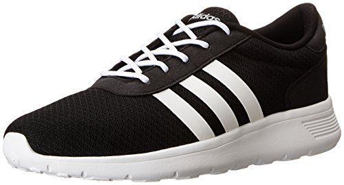 adidas neo uomini lite racer di scarpe da corsa, black / running