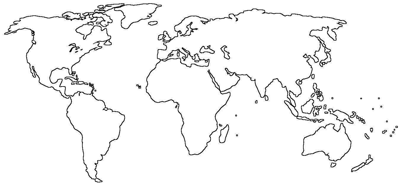 mapa mundi continentes para colorear - Google Search | dibujos ...