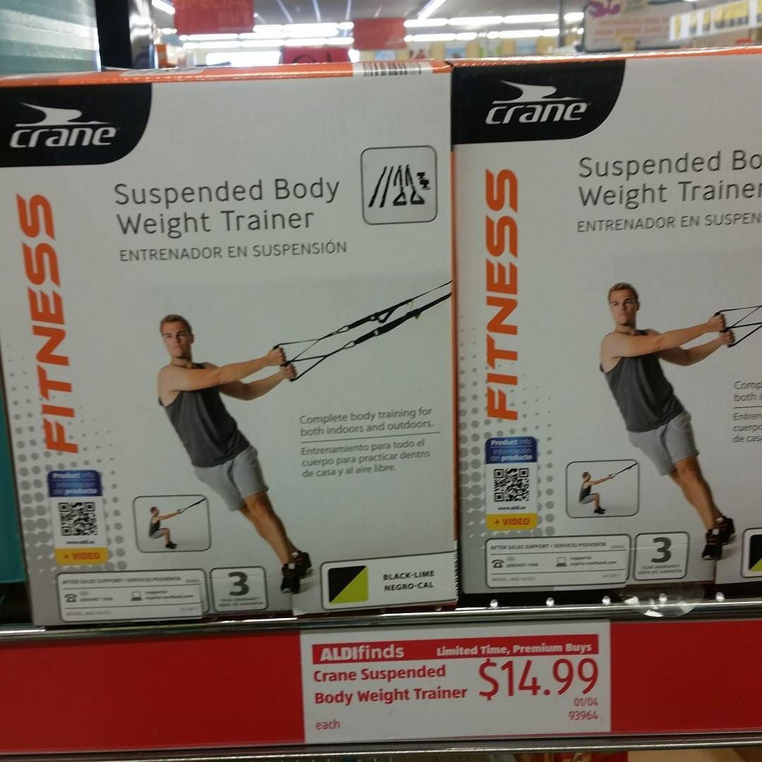 Look What I Found Suspension Straps Are Ah Mazing And You Can T Beat The Price Cfit Aldi Cheapfit Fitness Trx Suspensionstraps Workout Newyear Aldi