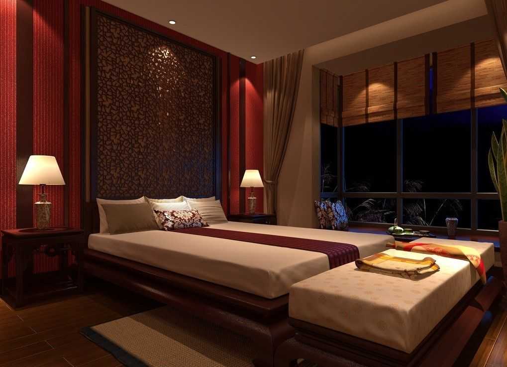 Beautiful Asian Bedroom Design Ideas