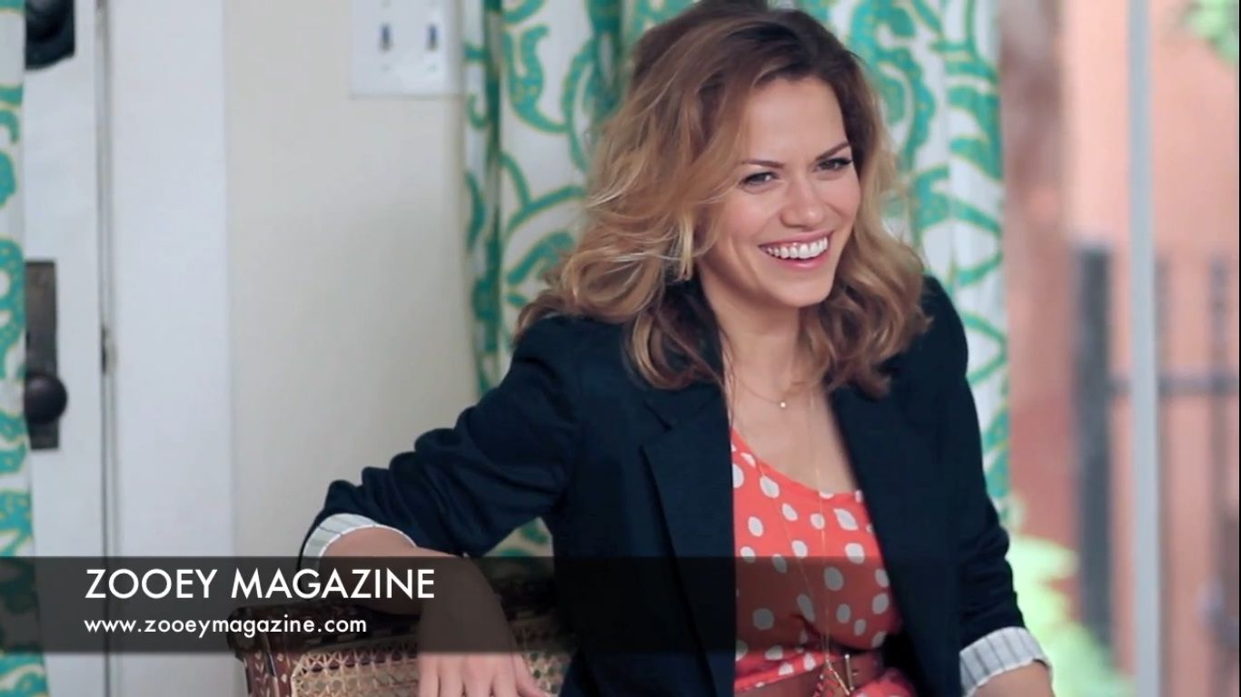 Bethany Joy Lenz Shooting The Cover For Zooey Magazine One Tree