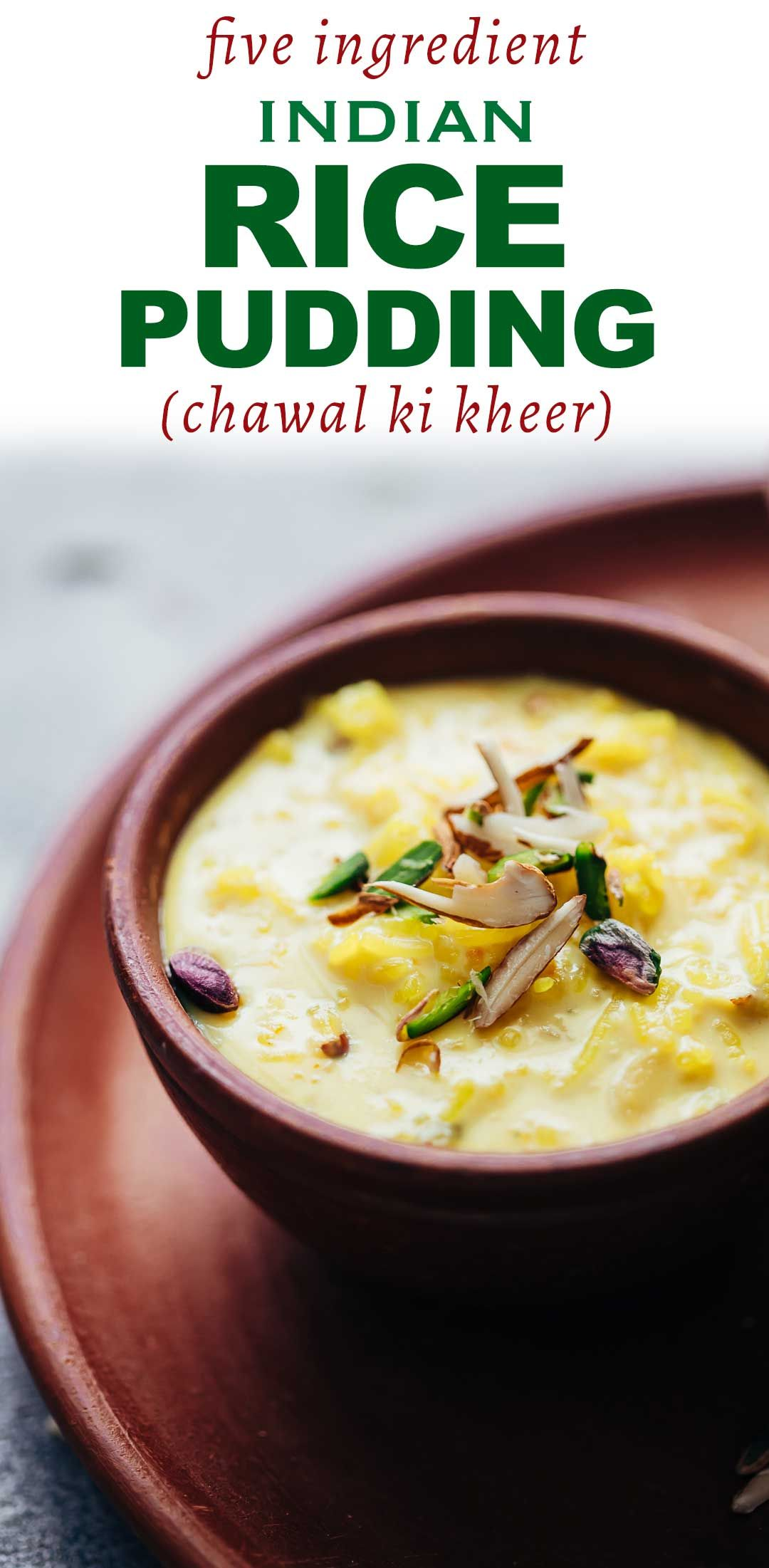 Rice Kheer | Recipe | Indian rice pudding, Indian desserts ...