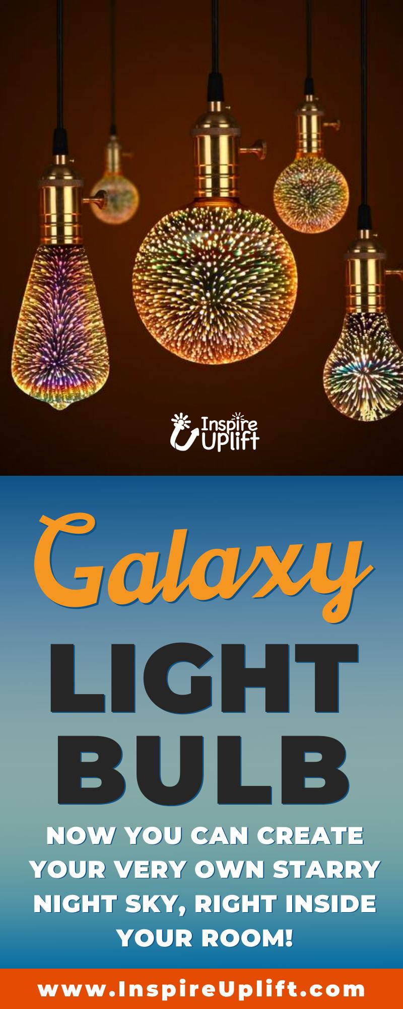 Galaxy Light Bulb Gluhlampe Kuche Dekoration Lampen