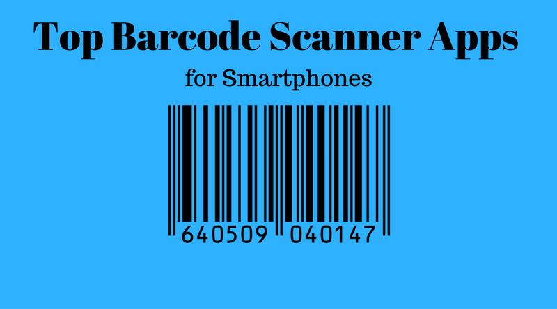 Top 7 Barcode Scanner apps for Smartphones Qr code
