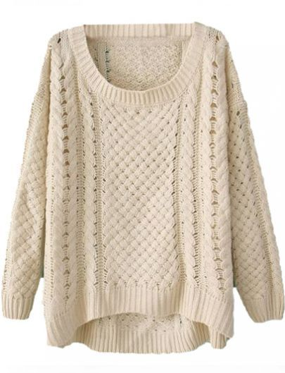 the perfect cable knit sweater