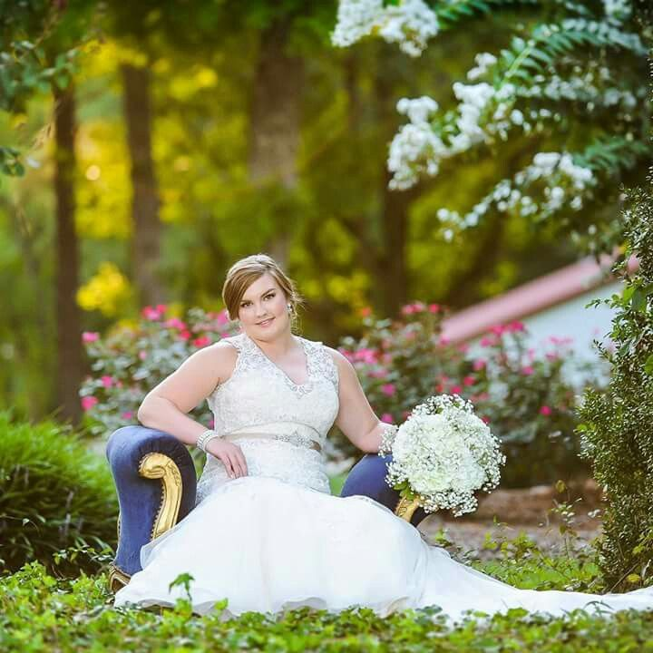 Simpson's Real Bride, Mrs. Racheal Edwards Bowers, Wearing