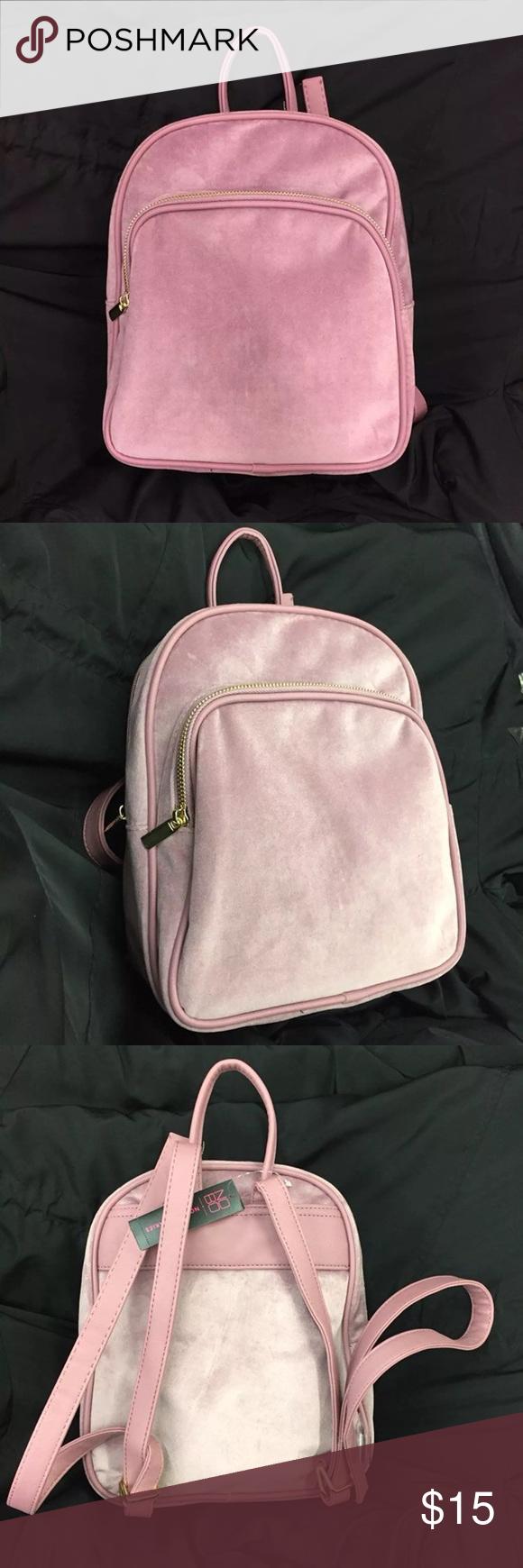 a329f0a78eca Crushed Velvet Mini Backpack. Crushed Velvet Mini Backpack No boundaries ...