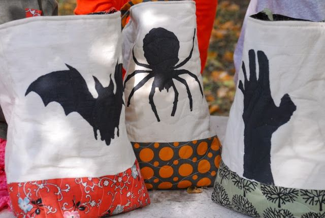 Mamabyrd: Trick-Or-Treat Bags