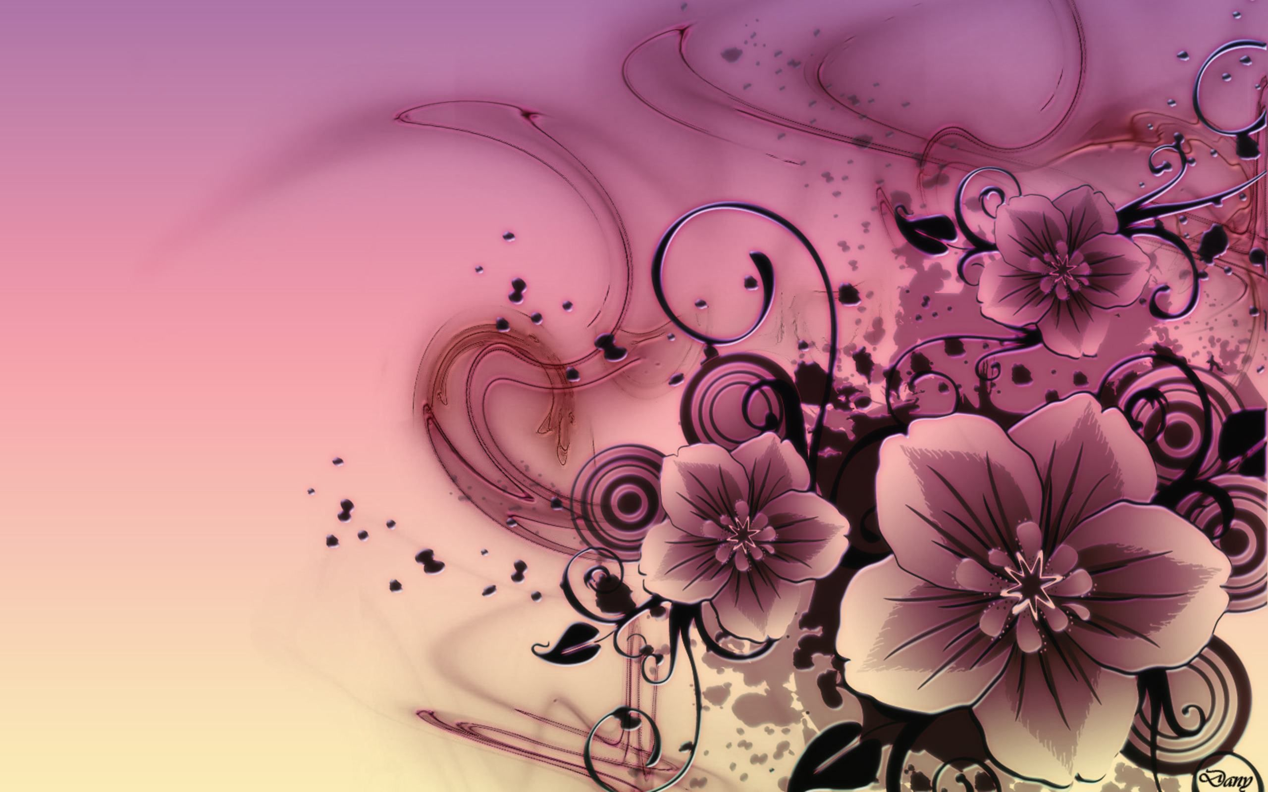 Desktop Full Screen Image Size Google Search Free Flower Wallpaper Pink Abstract Flower Wallpaper