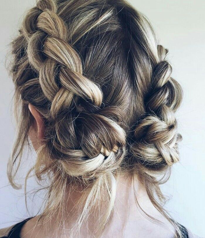 Simple Diy Hairstyles Everyday: Loose Braids, Doubt Braids, Braids With