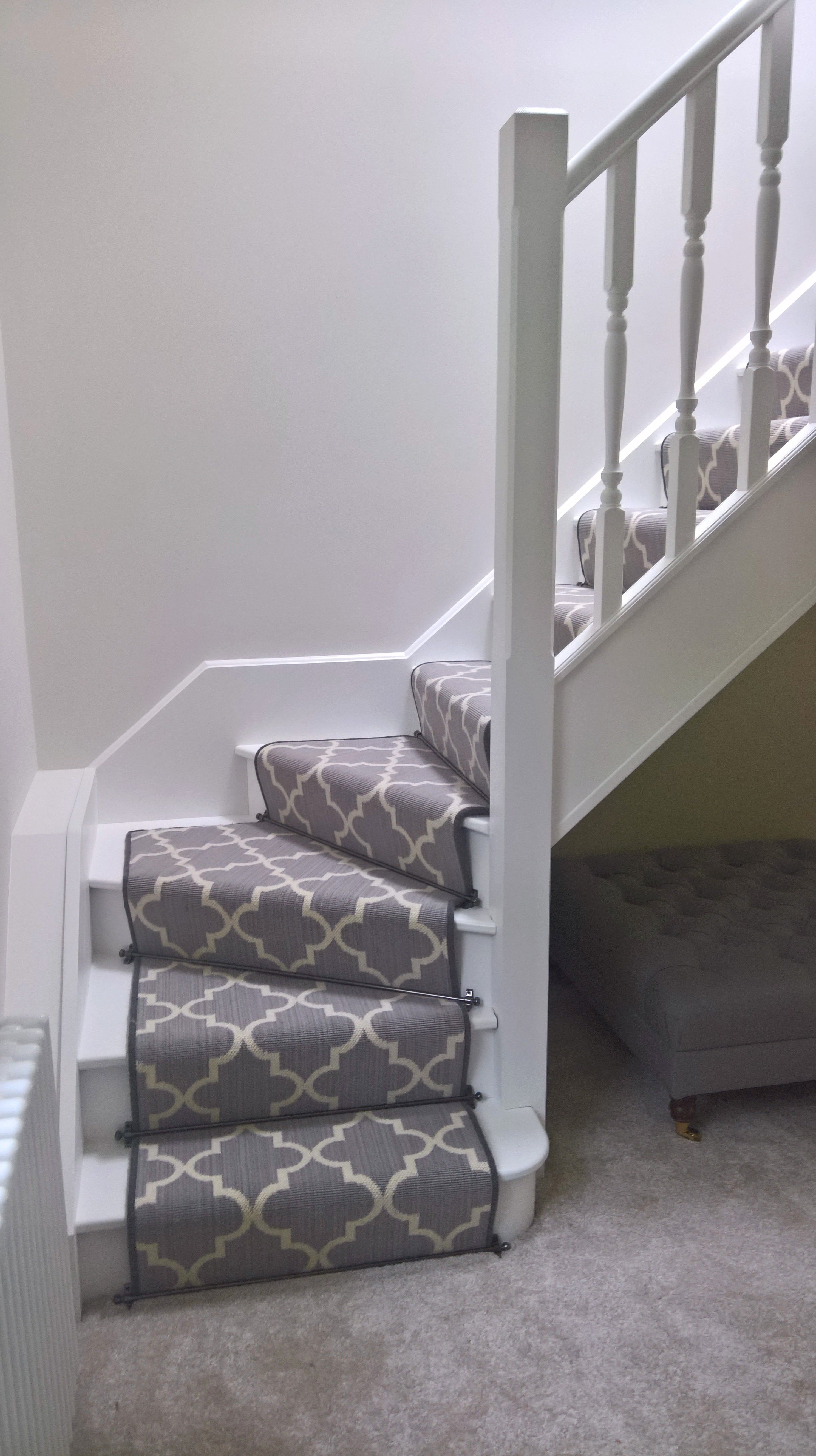 Axminster Carpets Royal Borough Trellis Steel Mid Grey