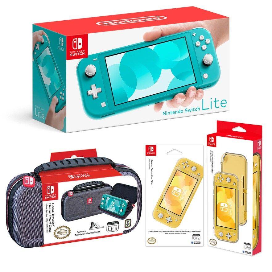 Nintendo Switch Lite Bundle With Case Screen Protector Switch Lite Armor Nintendo Switch System Nintendo Switch Screen Protector