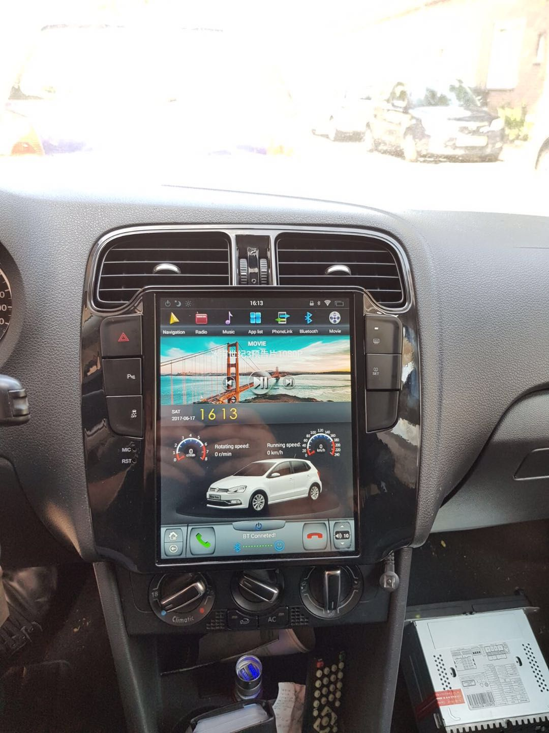"""10.4"""" Tesla style Navigation Vertical Screen Android Radio"""