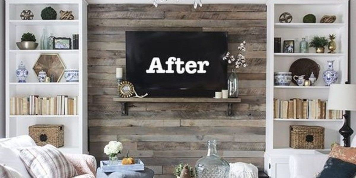 100 Diy Pallet Wall Ideas For Your Apartment The Urban Interior Pallet Accent Wall Diy Pallet Wall Pallet Wall #pallet #wall #living #room