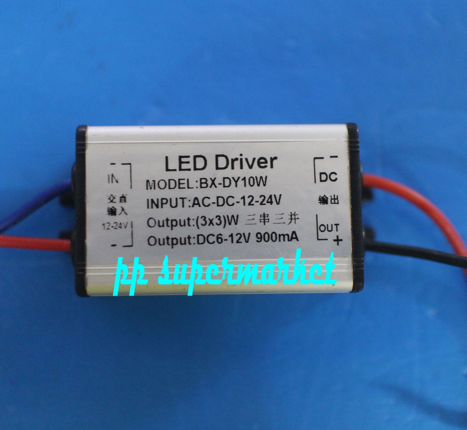 399 Ac Dc 12v 24v 10w High Power Led Driver For 3x3w Picture Of Circuits