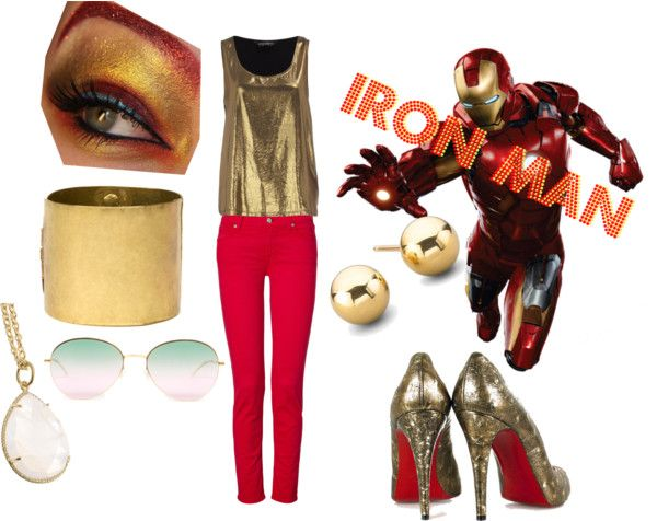 The Avengers:Iron Man, created by tori616 on Polyvore
