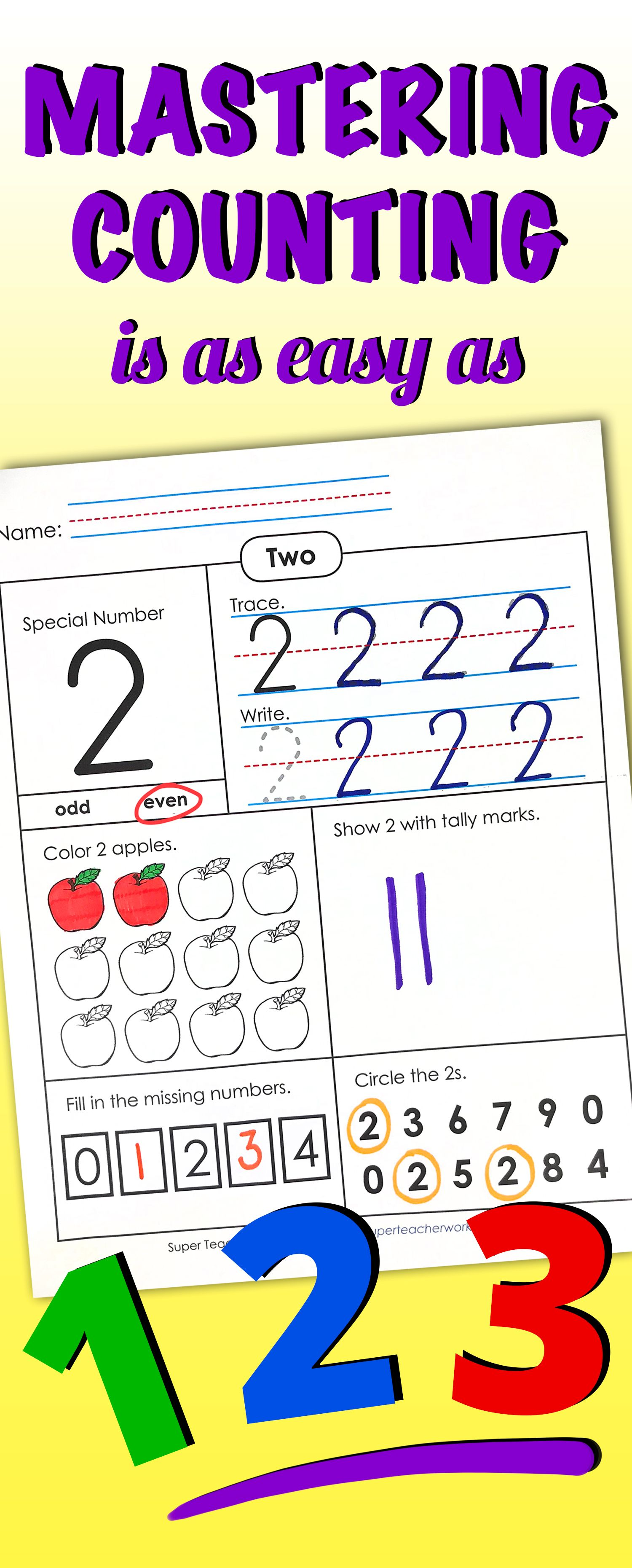 Practice Counting With Basiccounting Worksheets Activities And