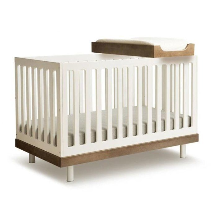 Best Classic 2 In 1 Convertible Crib Modern Baby Cribs 400 x 300