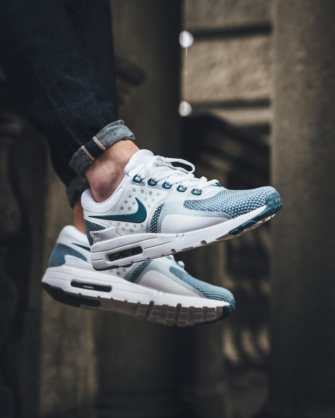 NIKE Air Max Zero Essential 'Smokey Blue' (via Kicks daily