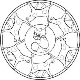 Malvorlage katzen mandala pinterest malvorlage ausmalbilder katzen mandala malvorlagen katzen mandalas zum ausmalen mandalas mit katzen hunde mandalas mandala mit pferden und viele weitere thecheapjerseys Images