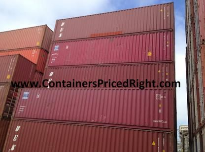 Used Cargo Containers For Sale In Houston Portable Storage Units