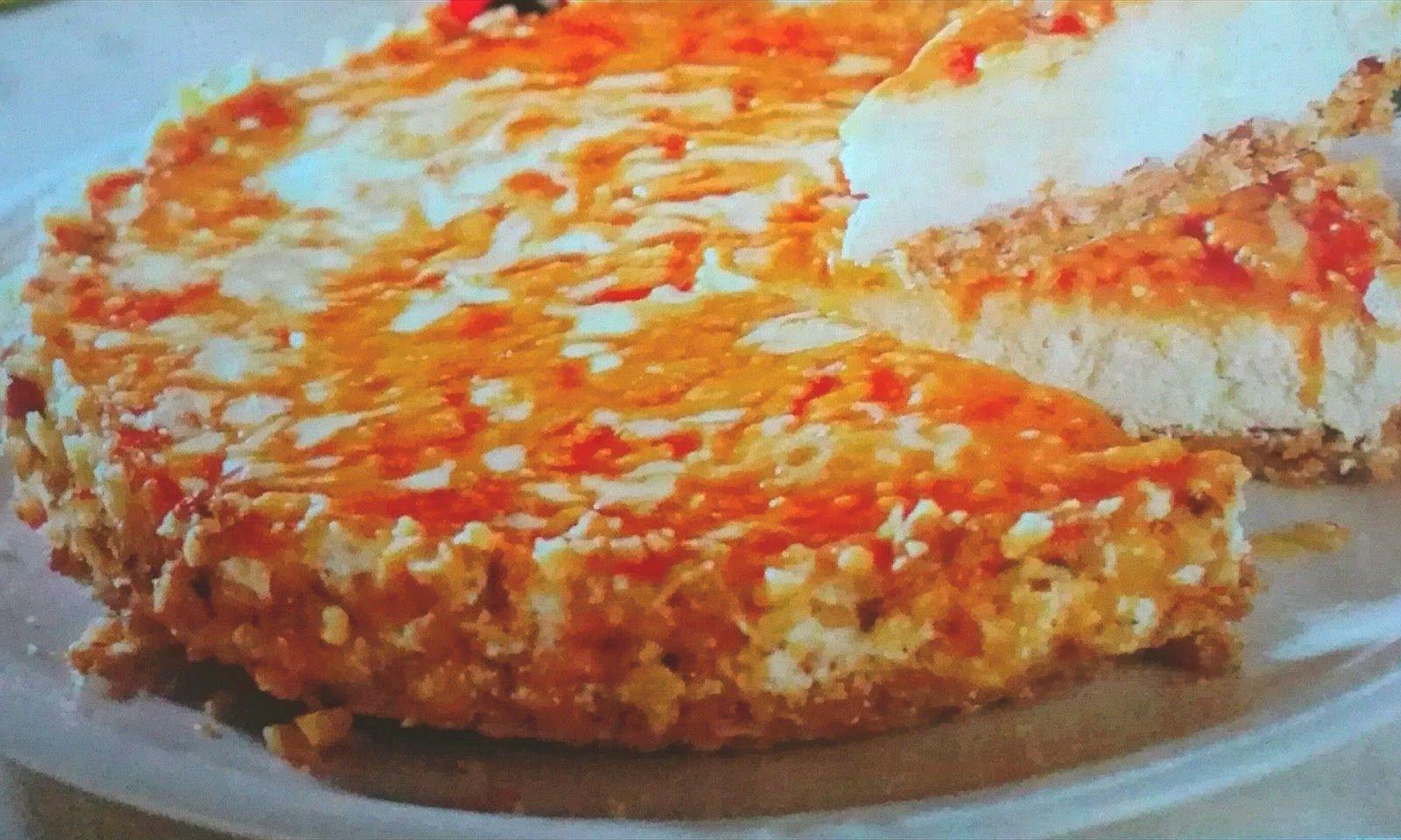 Tarta De Queso Crujiente Recetas De Cocina Para Todos Los Gustos